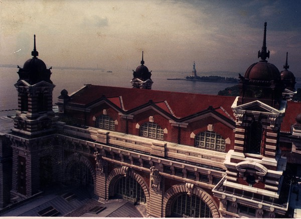 Roof of Ellis Island